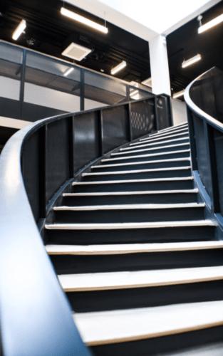 peinture electrostatique fabricant escalier